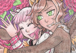 ACEO PRIZE Velvet and Bijon by iLantiis