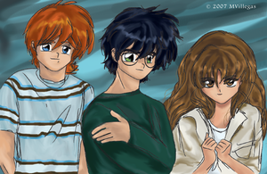 The Trio in colour by MarianaIsabel