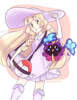 Lillie and Nebbie!! by cakeyquake