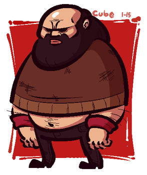 Brad Armstrong by Cubesona