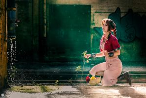 Aerith | Final Fantasy 7 by kaihansen3004