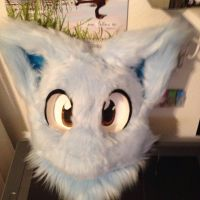 Smiley Fursuit Head by Void-Shark