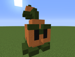 Minecraft Pepper-pult by magolorandmarx