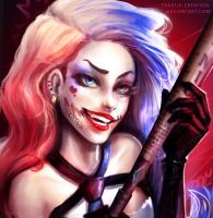 Harley Quinn by fragile-creation