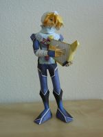 Sheik Papercraft by dustofstarz