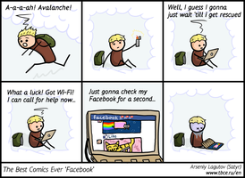 The Best Comics Ever: Facebook by SatyrArs