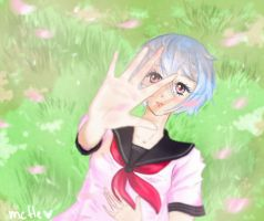 Yandere Simulator spring | Kuu Dere + SpeedColor by mcfle