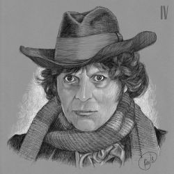 Doctor Who: Fourth Doctor by rfparker