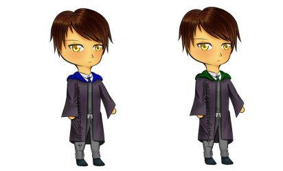 Ravenclaw or Slytherin? by jt-designs-123