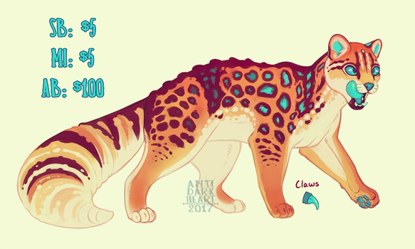 Margecko Adopt Auction - CLOSED by Anti-Dark-Heart