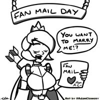 Fan Mail Day by Adam-Clowery