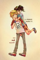 The Prince and me by RenaAi