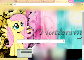 Google Chrome Fluttershy Theme by Acinoriv8