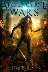 Apocalypse Wars - Premade book cover by Mihaela-V