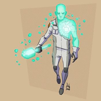 Crystalline Astronaut by DBed