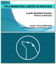 Cartao Foca Marketing by rosye