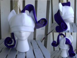 Rarity hat by MermaidSoupButtons