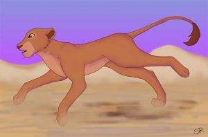 'Wait for me Simba...' by SunRei