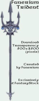 Funerium Weapon: Trident by FantasyStock
