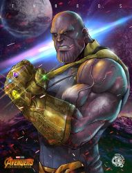 THANOS - The Mad Titan by Crike99