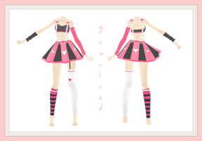 [MMD] Outfit 1# DOWNLOAD up! by AyaneMiku