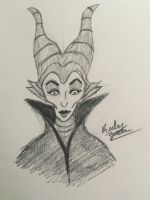 Day 4: Maleficient by erbyderby24