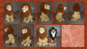 .: DSE Adult Simba Plush :. by BeachBumDunkin