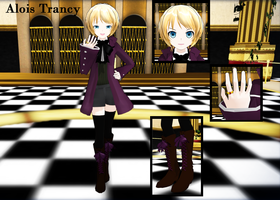 - mmd - alois trancy by Count-L