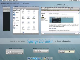 Synergy 2.0 Guikit for Windows by kavin