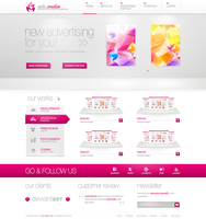 Company Design - advmedia by h1xndesign