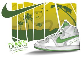 Nike Dunk Signature Model by theblastedfrench