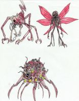 Infected - Creeper, Mosquito and Corpse Cocoon by Sylizar