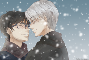 Snow Lovers by blackxxcherry