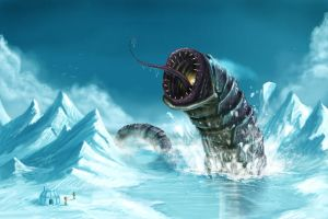 Ice worm by Joey-B