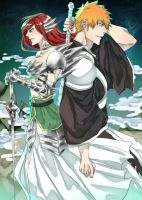 Bleach and FT: The Phantom Speed and Fairy Queen by GuardianInTheDark