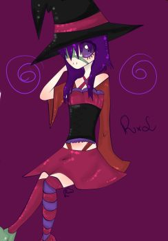 Witch of Halloween by Risa-Misuki