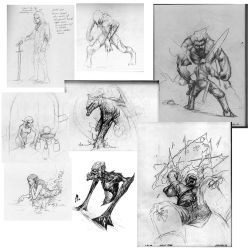 Compiled Sketches by cmalidore