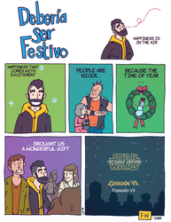 DSF 93 Merry StarWars. by juandapo