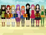 Happy Birthday Loveur1 By Mysteriouwolf1 by loveur1