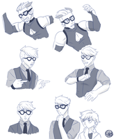 Anton/Iida Redraws by SubduedMoon