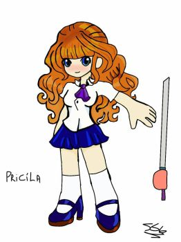 Pricila ( warriors of time) by sarao9g
