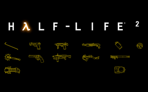Half-Life 2 Weapons (1440x900) by gamma097