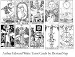 Waite Tarot Brushes by DeviantNep