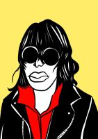 Joey Ramone by nikolabjovanovic