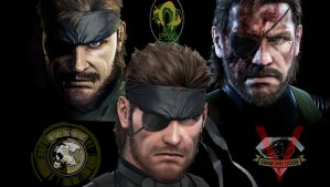 Naked Snake Tribute by GeorgeSears1972