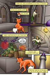 The Fox and The Firebird-Pg 48 by Marie-August