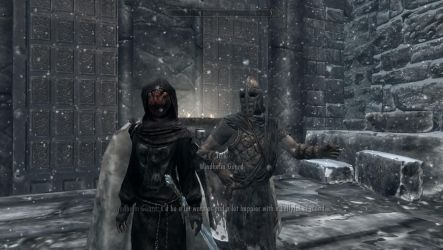 Windhelm guard what you doin? by jetknight