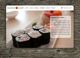 Sushi Cap by leslyg