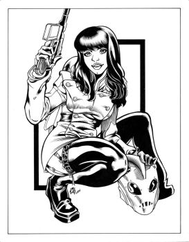 Betty Rocketeer inks by madman1
