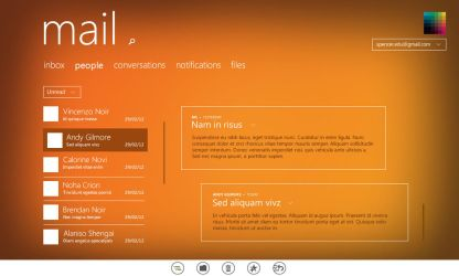 Mail app for Windows 8 by uibox